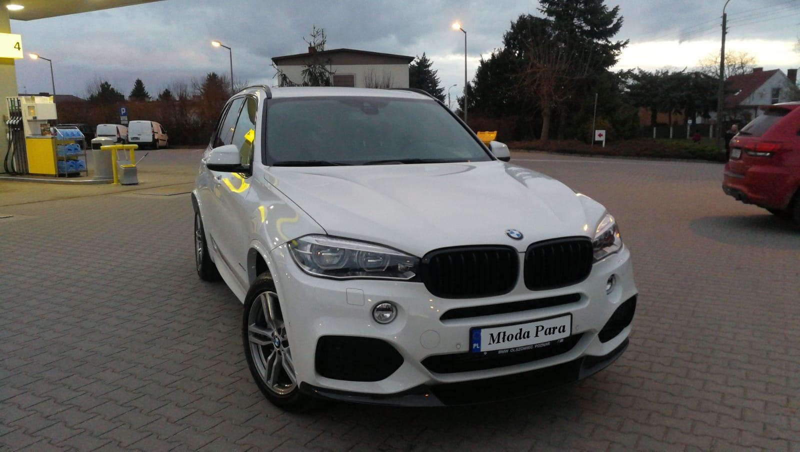 BMW X5 do ślubu